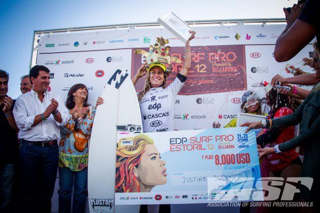 Justine Dupont (FRA) victory