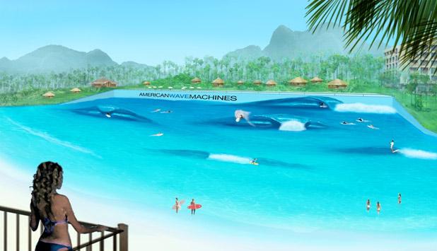 Surf en los juegos ol mpicos de invierno mar gruesa for Piscina wave