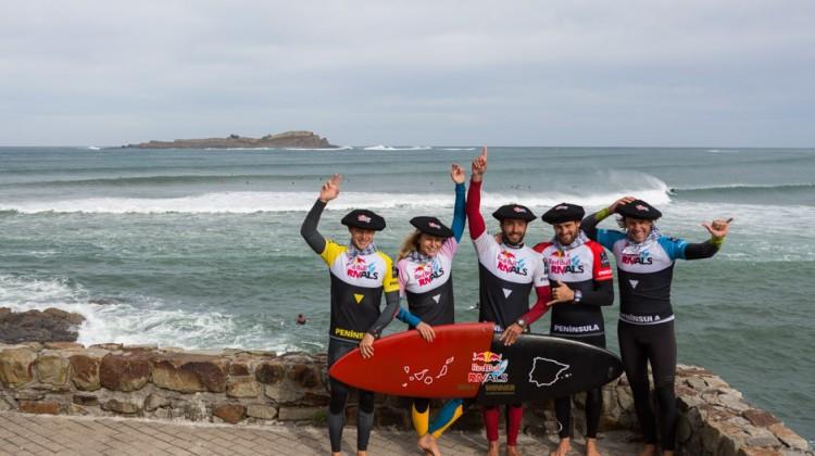 El equipo peninsular. Foto: Pacotwo/Red Bull Content Pool