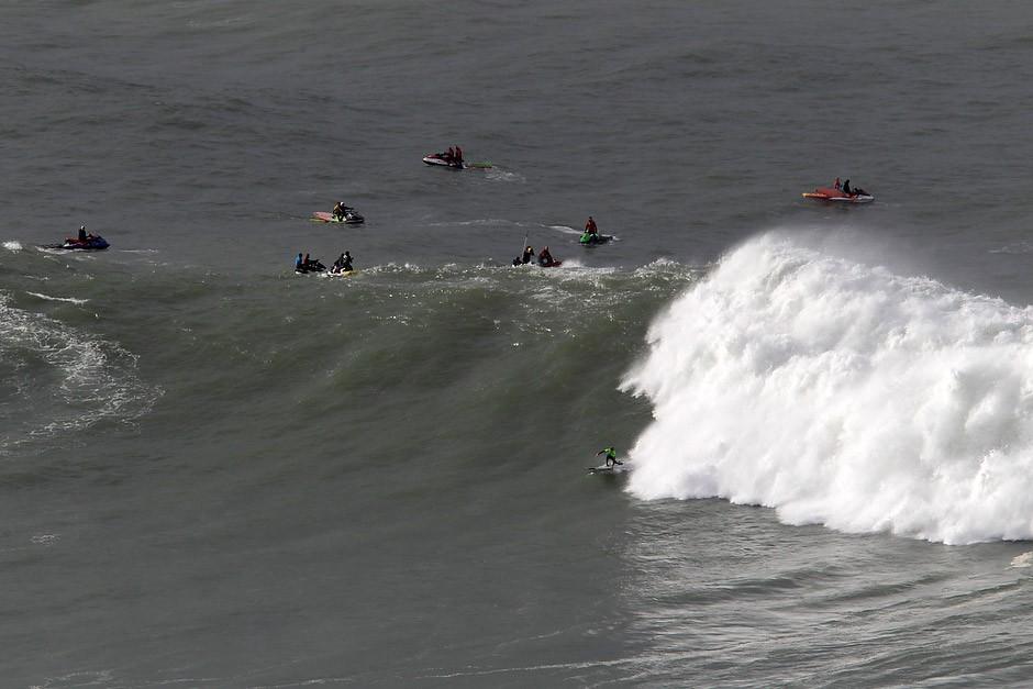 Un diez para Natxo en este ola de bajada muy complicada en semis. Foto: Pacotwo