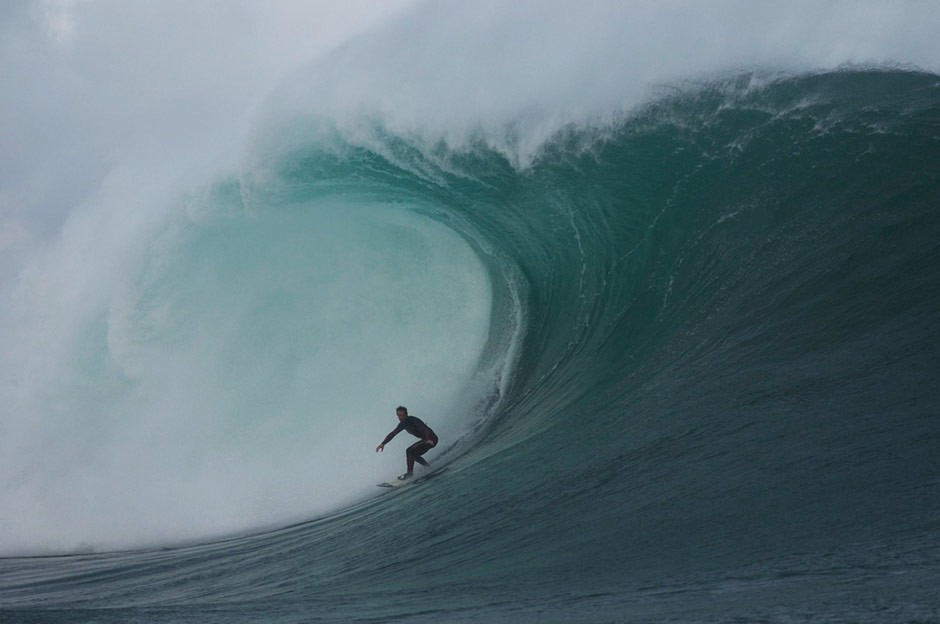 Las comparaciones son odiosas, pero esta ola recuerda a esa que estás pensando...Foto: Greg Rabejac