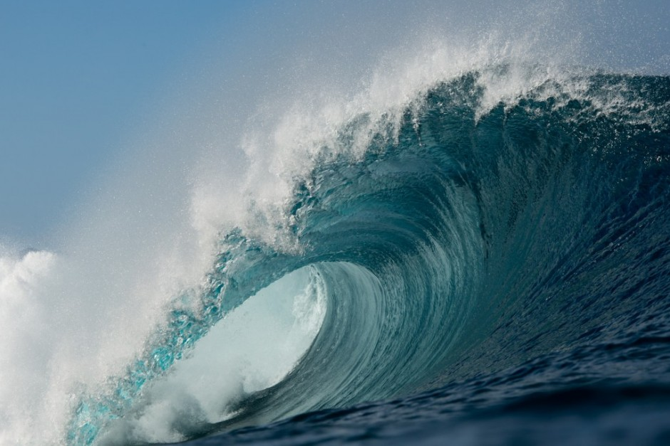 Esto es lo que se espera de un contest en Hawaii. Foto: Bielmann