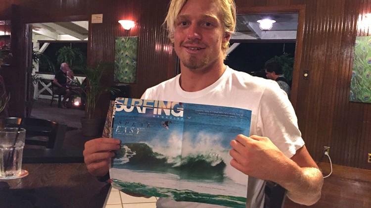 Kolohe y su portada en Surfing. Foto: Ryan Miller/Red Bull