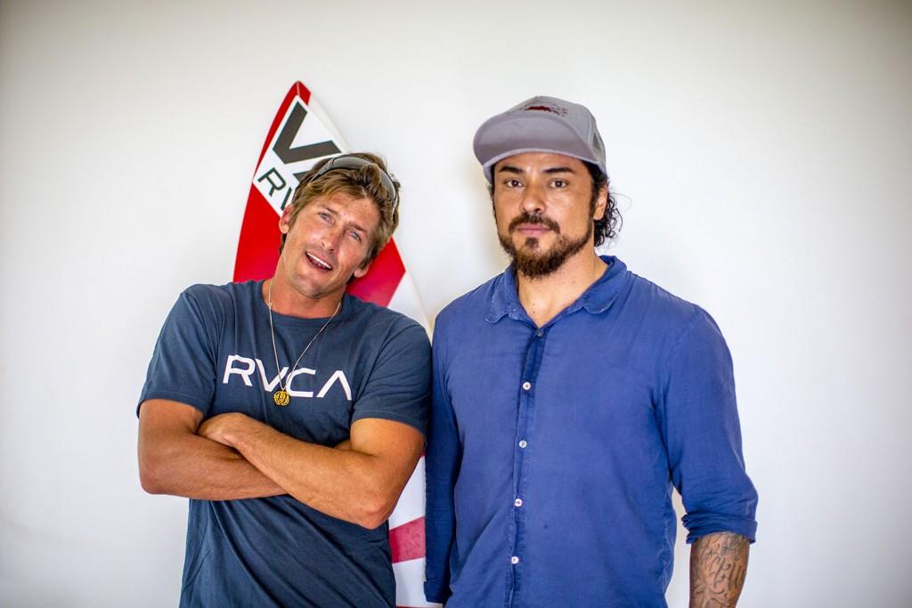 Bruce y PM Tenore, fundador de la marca