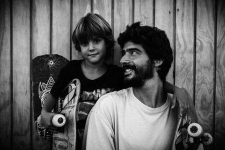 Jimmy y su hijo cairo. Foto: Emilio Deham