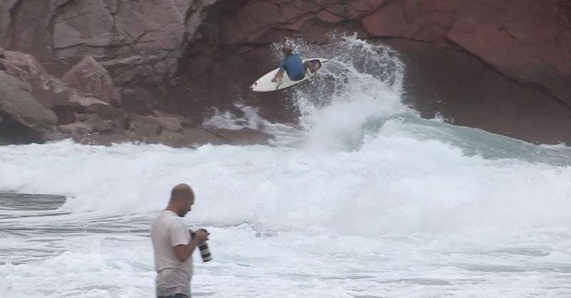 Ley de Murphy surf mar gruesa