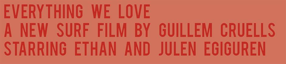 Everything we love surf film