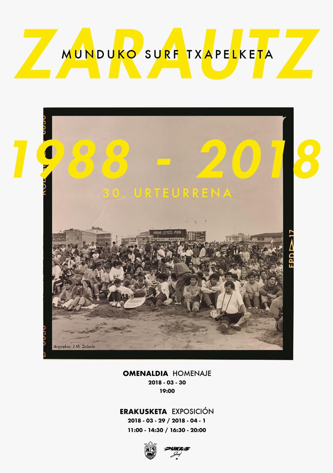 pukas zarautz homenaje 30 aniversario