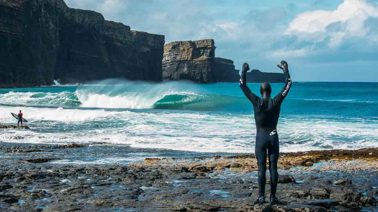 Cuando Irlanda no parece Irlanda - Mar Gruesa