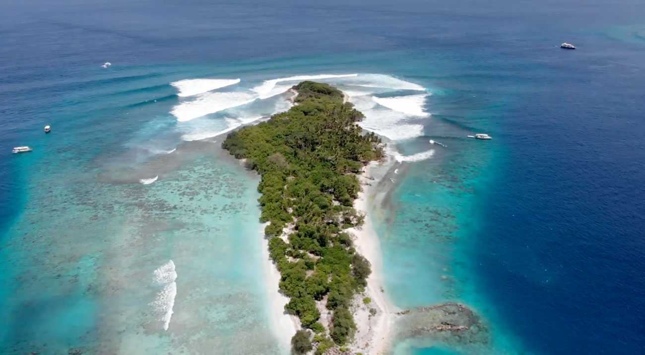Maldivas surf