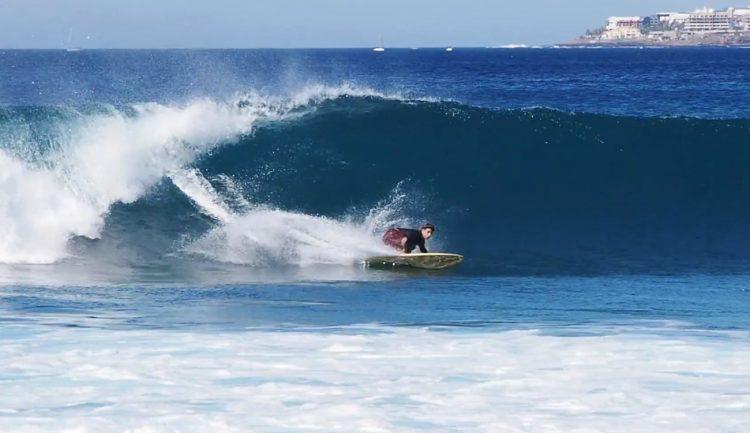 LAS PALMERAS TENERIFE SURF.