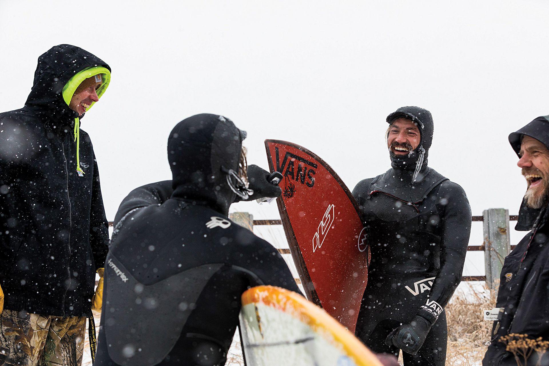 Surf lake michigan