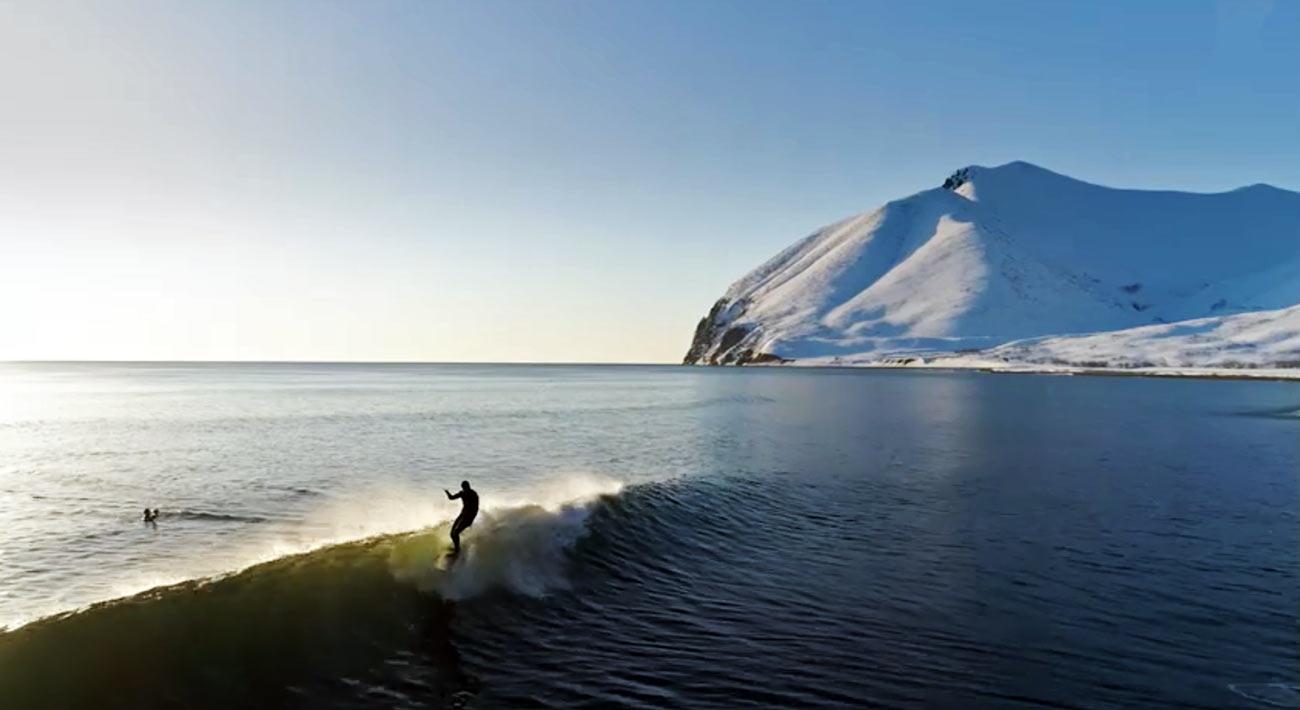 Kamchatka surf