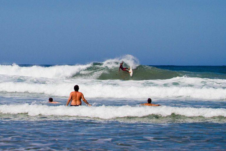 zona de baño surf