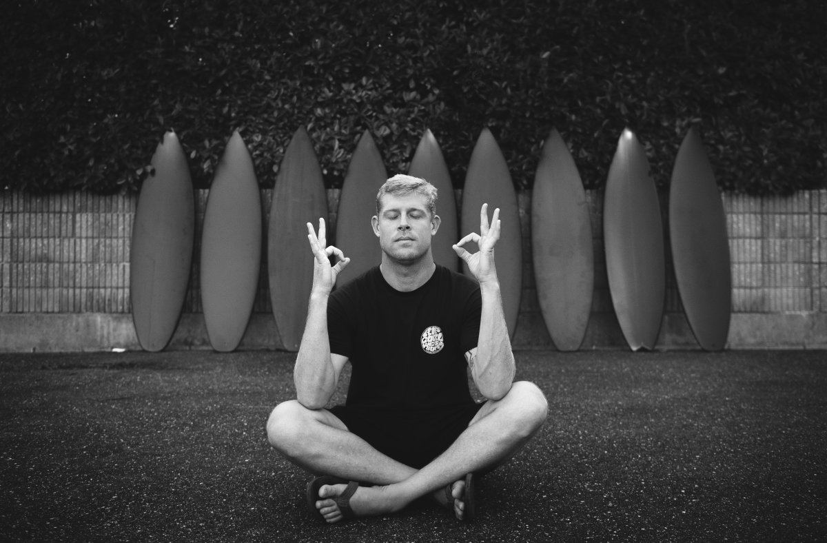 Stab in the dark. Mick Fanning.