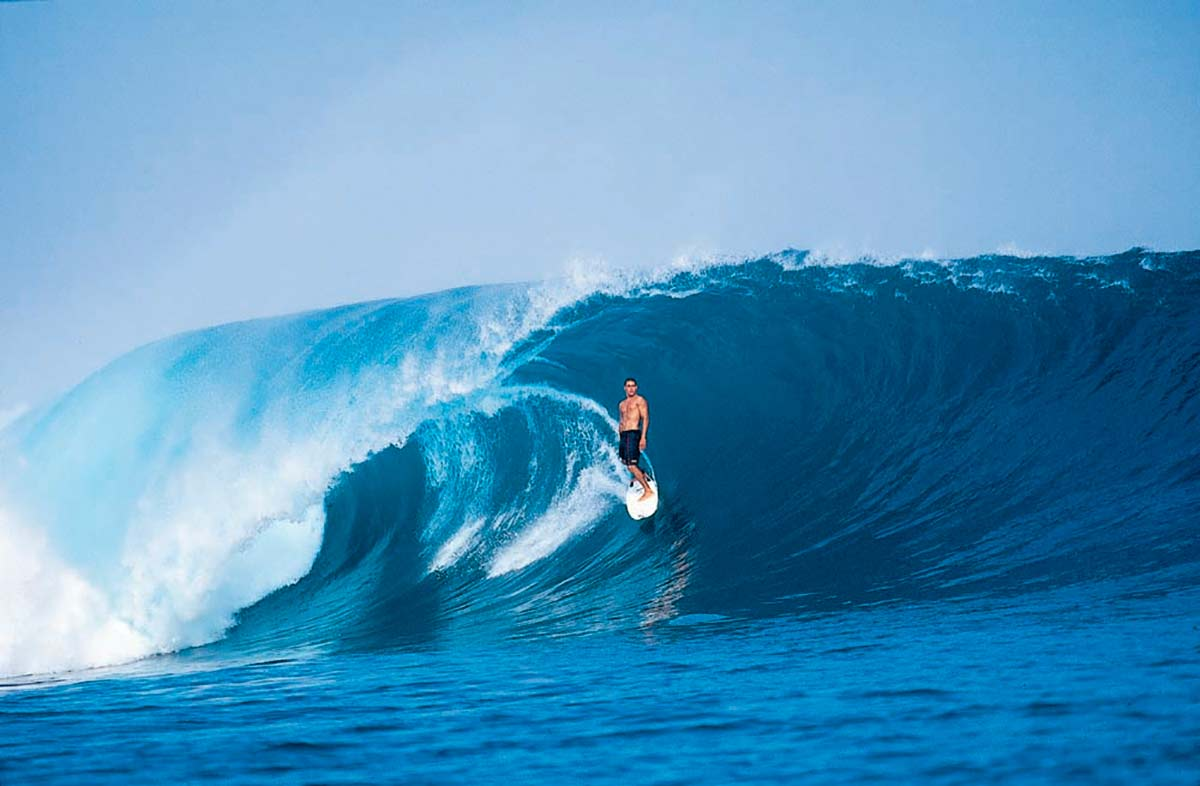 Kelly Slater G-land 1995