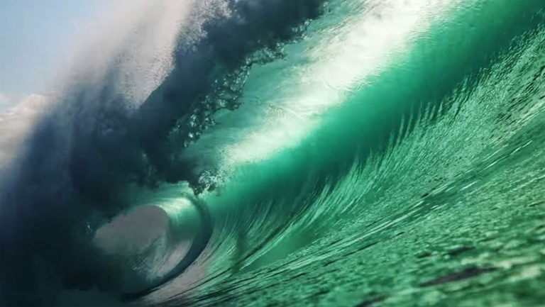 Pipeline surf
