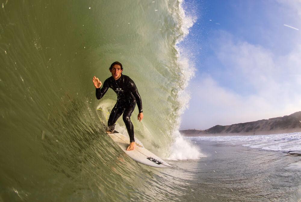 Ethan Egiguren en una mañana muy buena en Capbreton, este día pudimos disfrutar de unas olas increíbles sin gente y al final salieron cosas bonitas.